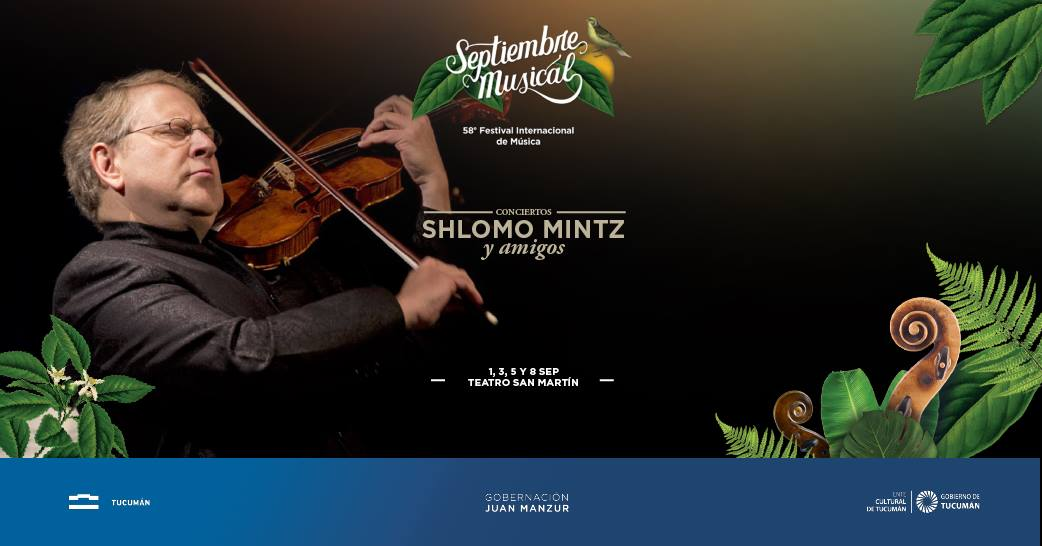 Resultado de imagen para Shlomo Mintz septiembre musical